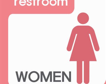 RESTROOM Toilet sign 1pc at USD9.9_Free Shipping!