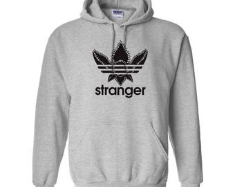 Stranger Things - Adidas Demogorgon Parody Sweatshirt Pullover Hoodie