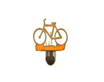 Bicycle Rusty Metal Image Style Night Light