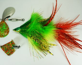 Convertible Baitcast Fly - Slow Sinking Mid-Tier Patterns