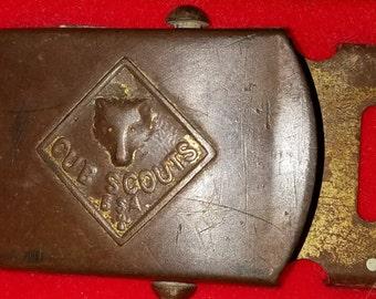 old CUB SCOUT belt buckle