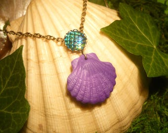 Little Mermaid Ariel - handmade Necklace