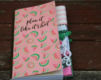 Plan It Like It's Hot Altered Journal