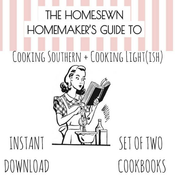 Printable Cookbook Collection, Cooking Light (ish) and Cooking Southern