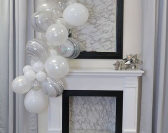 Balloon Garland Kit - Carrera Marble