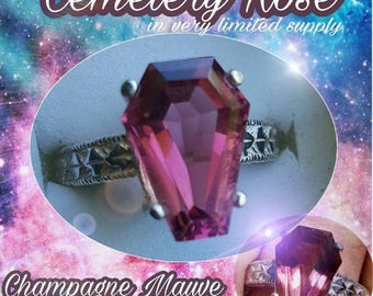 5 Carat Coffin Gem - Cemetery Rose