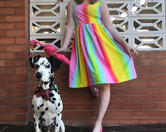 Marriage equality rainbow dress 100% of profits go to LGBTI charity