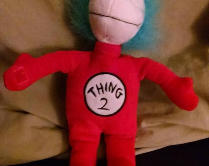 Retrocon Sale - 14 inch Plush Thing 2 Doll - Cat in the Hat