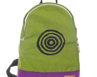 Canvas Backpack, Travel Backpack, School Backpack, Vegan Backpack, Hipster Backpack, Gym Bag, Backpack Women, Backpack Men, Gift Her, Him