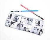 Star Wars Pencil Case, Kids Pencil Pouch, Pencil Bag, Back to School Supplies, Star Wars Gift for Her, Star Wars Purse Organizer Bag