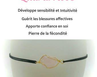 Pink Quartz Lucky Bracelet