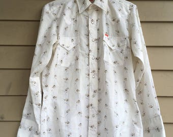 1970s Ely western shirt