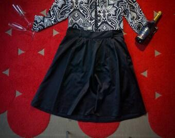 Short black & white women's blazer - LOUBEN