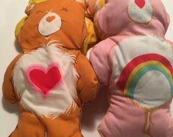 Care Bear Pillows Set of 4