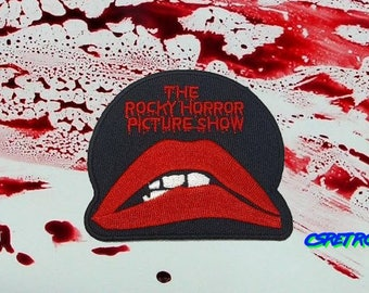 Rocky horror picture show retro iron on patch applique