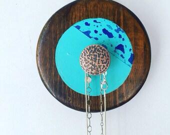 repurposed boho necklace jewelry hanger