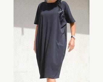 formal dresses, prom dress, midi dress sleeves, tunic dresses, Black tunic dress, tunic dress, little black dress, comfortable dress
