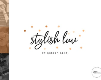 Premade Blog Header   Fashion Blog Header   Beauty Blog Logo   Wordpress Theme Logo   Blogger Template Logo   Polka Dots Logo   Minimal Logo