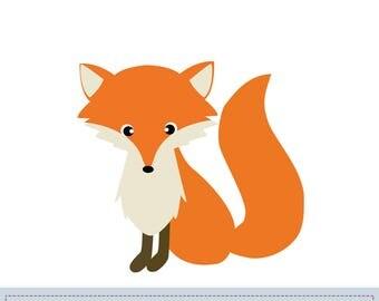 Fox Applique Pattern, fox Applique Template, Animals, Woodland, DIY, Children, Instant Download Digital Pattern