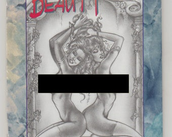 Fatal Beauty; Vol 1, 1A, Modern Age Good Girl/ Bad Girl Comic Book, Adult Cover Variant. NM (9.4). June 1996. Illustration Studio