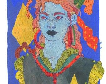 Sisterhood 4 - Art Print