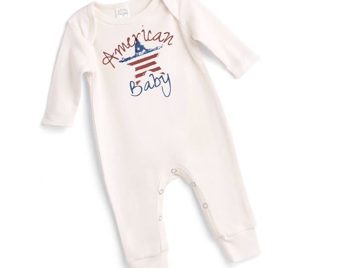 1st Fourth July Baby Outfit, 4th of July Baby Onesie, Newborn Girl Outfit July 4, Baby Girl 4th Outfit, Infant 4th July Onesie TesaBabe