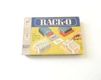 Vintage 1966 Racko Card Game