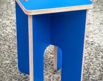 coloured stool