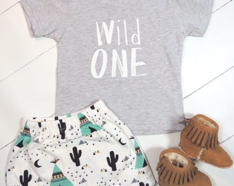 Wild ONE Unisex Shirt • One Year Old Birthday Shirt • 1st Birthday Shirt • First Birthday Outfit • 12 Month Outfit • Wild Things Birthday
