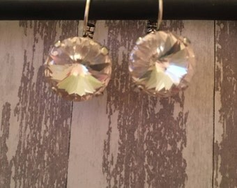 18mm Crystal Swarovski Earrings