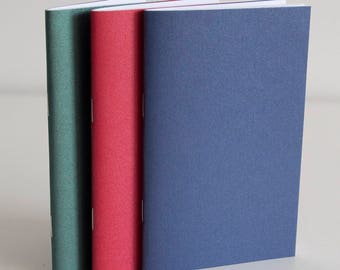 Set of 3 Field Notes notebook insert, pocket size TN planner insert notebook, paper refills, blank midori traveler notebook, fauxdori insert