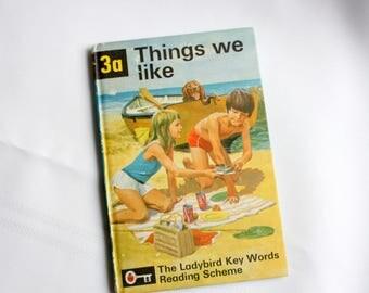 Vintage Ladybird Reader, Things We Like , Ladybird Book,