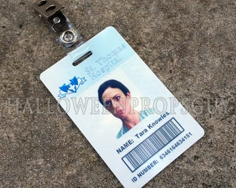 Sons of Anarchy Style Replica of Tara Knowles St. Thomas Hospital ID Card Badge  -  Made In USA