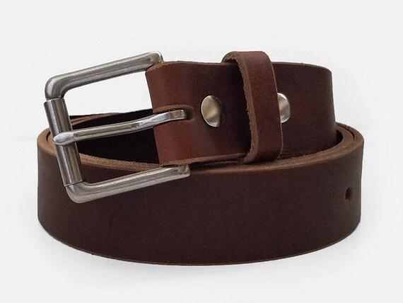 oak brown chromexcel horween leather belt