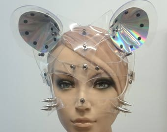 Holo mask - Bunny - mouse - cat