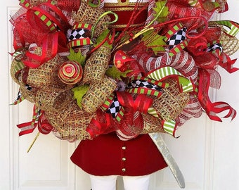 Christmas Door Decor - Christmas Door Wreath - Christmas Wreath Front Door - Christmas Wreath - Christmas Decor Wreath - Holiday Wreath