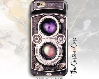 Vintage Camera Phone Case, Old Retro Camera Iphone Cover, Iphone and Samsung Galaxy Cases