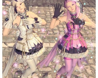 Final Fantasy XIV Idol Outfit