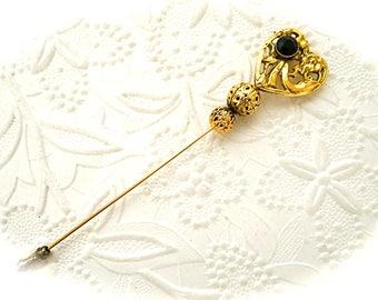 Gold Stickpin Vintage Hat Pin Vintage Pins VA-166