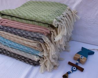 Turkish Towel Set Travel Towel Hammam Towel Peshtemal Set READY to SHiP Towel EXPRESS SHiPPiNG Beach Towel