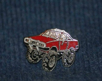 vintage pick up truck hat pin and pin back  -- 7