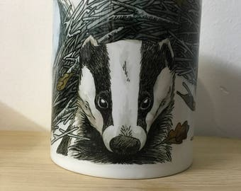In The Sticks Mug - Badger