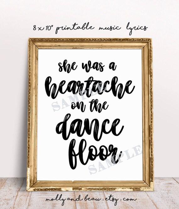 Heartache on the dance floor printable lyrics she was a heartache on the dance floor printable lyrics she was a heartache on the dance floor pardi animal country music stopboris Image collections