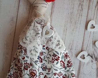 Frida Kahlo- doll doll Frida-handmade doll- Frida Kahlo