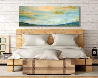 Bedroom Wall Art Painting   Sunny Landscape Painting   Large Bedroom Wall  Art   Bedroom Wall