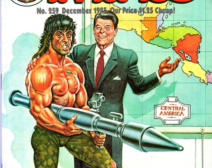 MAD Magazine #259 December 1985 Rambo Movie Issue