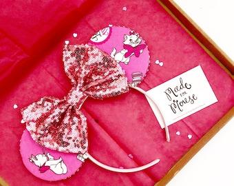 The Kitten from Paris - Handmade Mouse Ears Headband