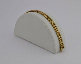 14k Yellow Gold Estate Curb Bracelet 8'' Long 16.1 Grams