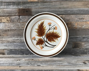 Set of 3 Vintage Mikasa Country Squire High Sierra Dinner Plates, Mikasa Hallkraft, Mikasa Stoneware