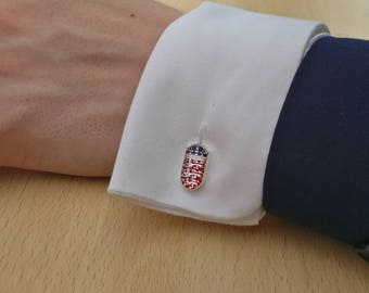 One Shilling Shield Cufflinks